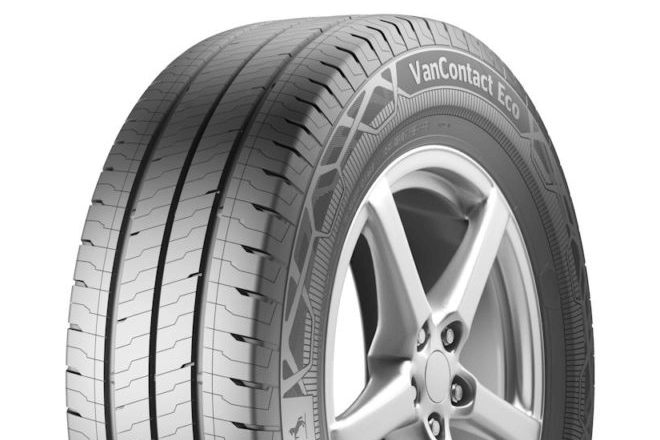 VanContact Eco — a new fuel-efficient tire from the Continental range