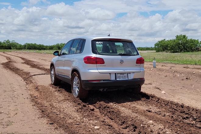 Off-Road Testing (Gravel).