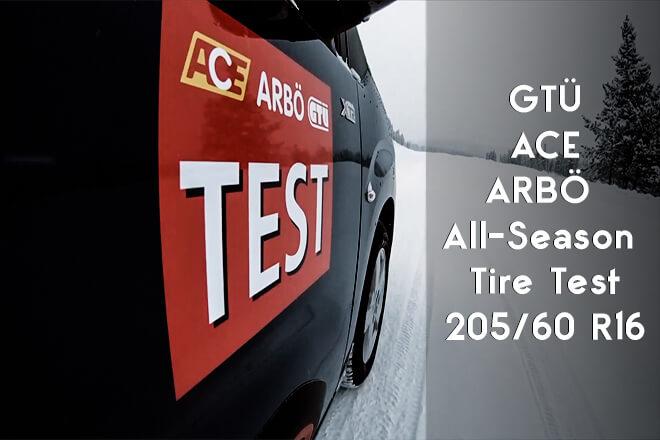 GTÜ/ACE/ARBÖ 2019 All-Season Tire Test - 205/60 R16