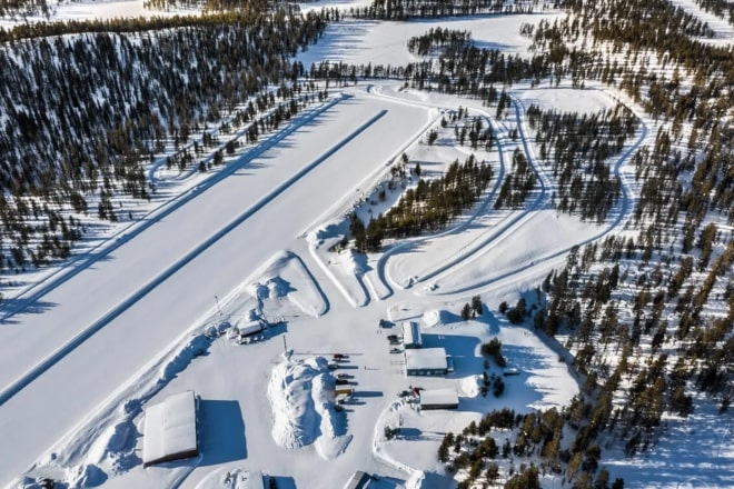 The test track in Arvidsjaur, Swedish Lapland. Source: ACE.