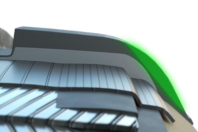 Aramid-reinforced sidewalls