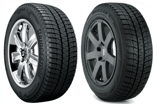 Bridgestone Blizzak WS90 and Bridgestone Blizzak WS80