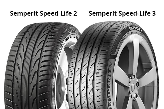 Semperit Speed-Life 2 / Semperit Speed-Life 3