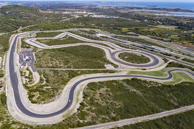 The test was conducted on Goodyear's test track in Mireval, France.