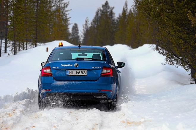 Test discipline: traction (deep snow).