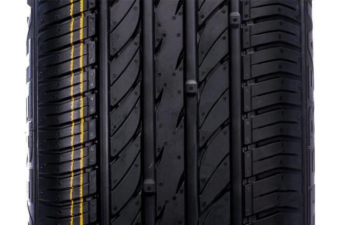 The tread design of Waterfall Eco Dynamic