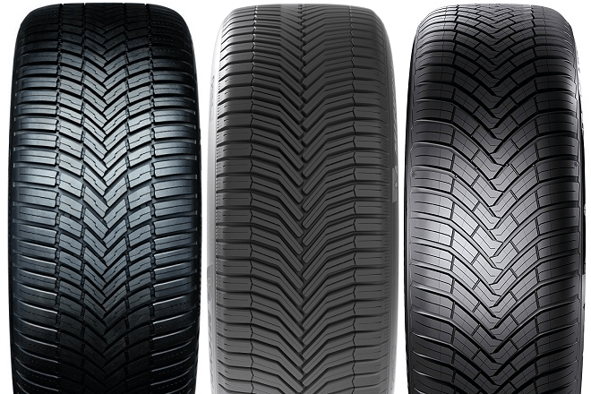 Continental AllSeasonContact / Michelin CrossClimate+ / Bridgestone Weather Control A005