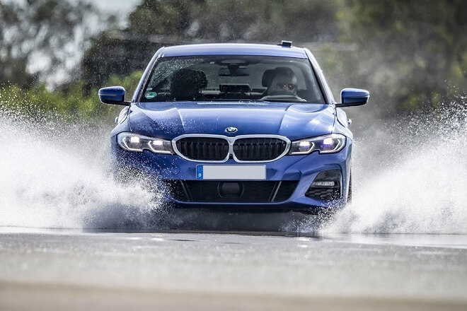 Test discipline: wet braking.