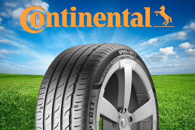 New Summer tires 2020 continental