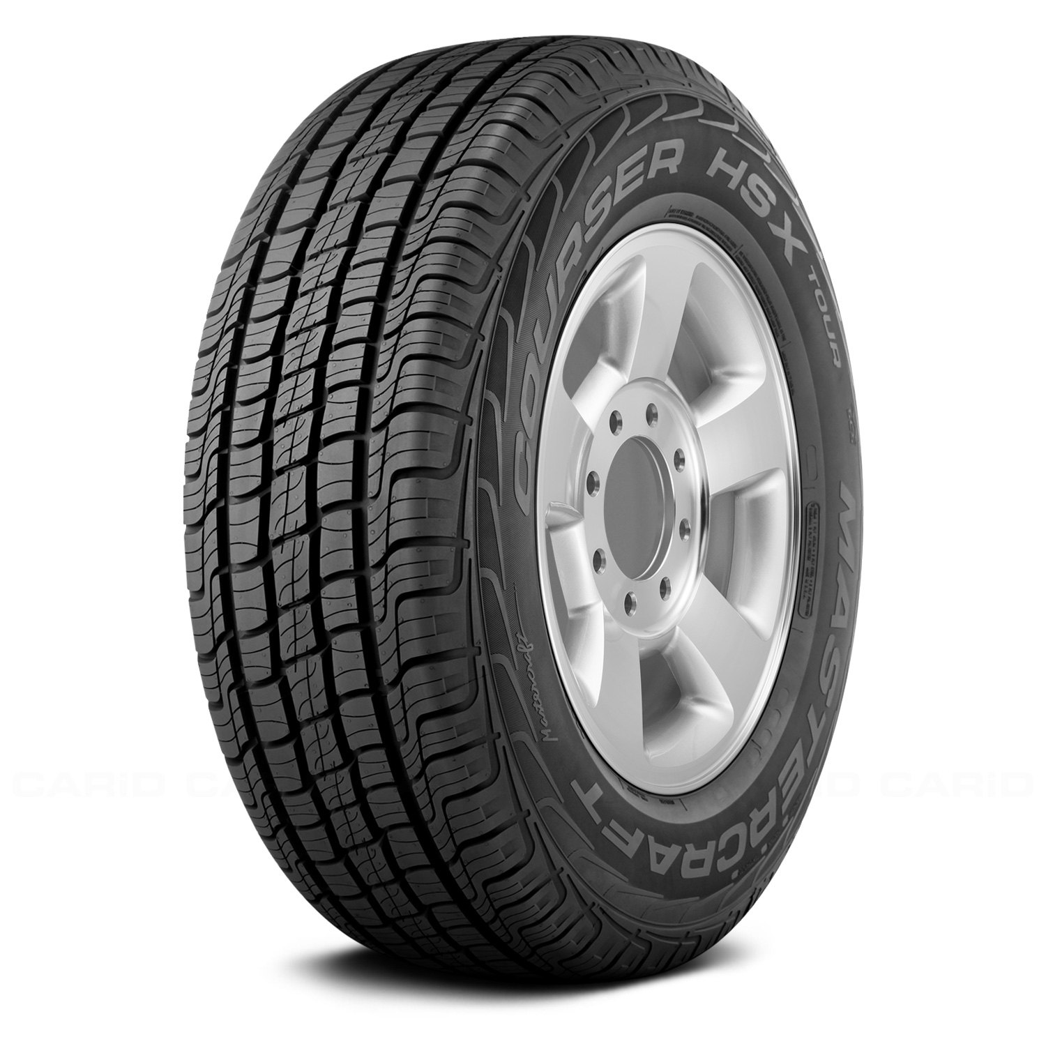 Mastercraft Courser HSX Tour Radial Tire 275//60R20 115T
