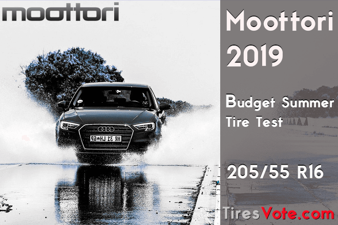 Moottori 2019: Budget Summer Tire Test – 205/55 R16