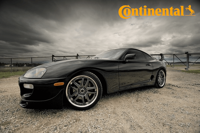 Continental Tires Chosen as Original Equipment for Toyota Supra