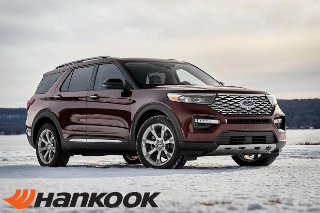 Hankook Tire Adds 2020 Ford Explorer to Original Equipment Portfolio
