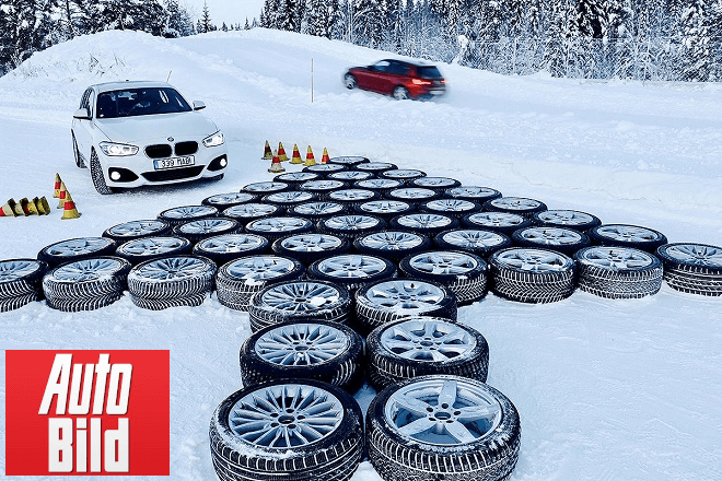 Auto Bild 2019: Large winter tire test - 225/45 R17 (qualification round)