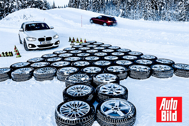 Auto Bild 2019 Large Winter Tire Test (The Final) - 225/45 R17