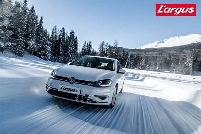 L'Argus 2019: Winter Tire Test - 205/55 R16